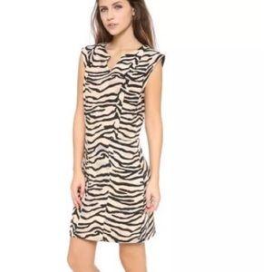 Rebecca Taylor Animal Print Tiger Dress